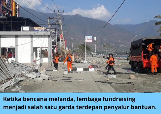 Lembaga sosial di area bencana