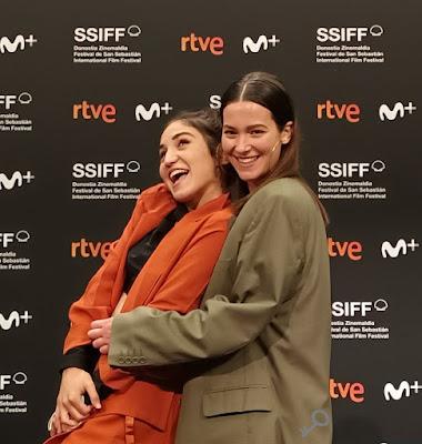 Nina Dziembrowski (Camila) y Maite Valero (Clara) - Rueda de prensa de Camila saldrá esta noche