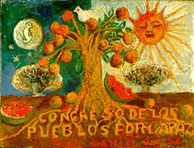 Фрида Кало - Конгресс народов за мир. 1952
