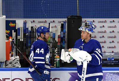Leafs Provide 'Update' on the Health of Freddie Andersen