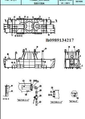 2.Khung bệ cẩu thủy lực Dong Yang SS1924-SS1926