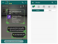 Free Download [BBM MOD] Simple Green apk v3.3.6.51 [Hijau Lumut] Terbaru