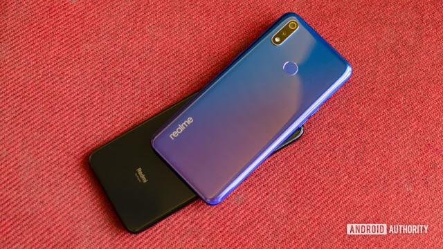 Realme 3 Pro vs Redmi Note 7 Pro back of the phone