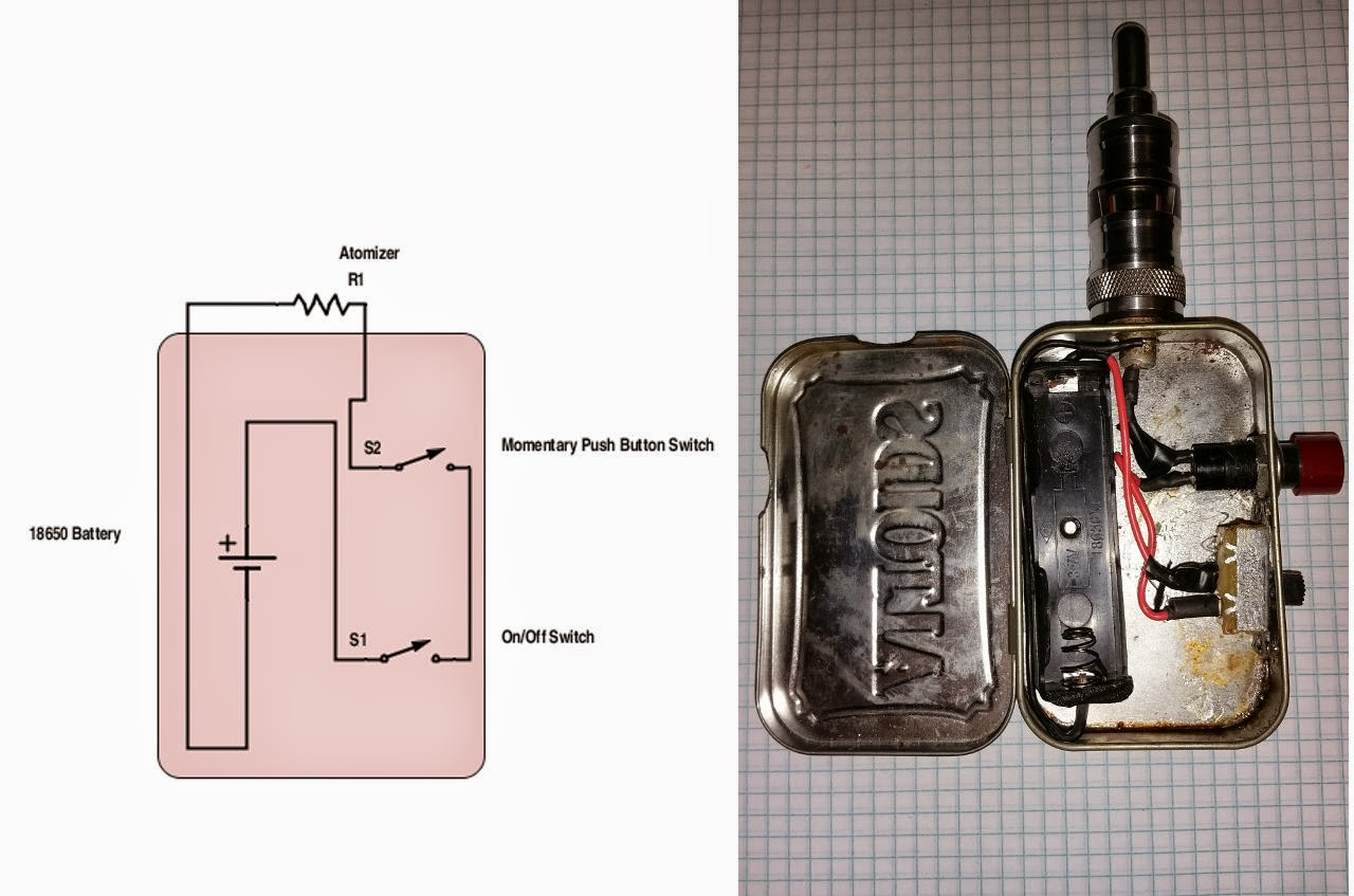 small resolution of dual 26650 wiring diagram internet of things diagrams diy vape box mod kit unregulated box mod wiring diagram
