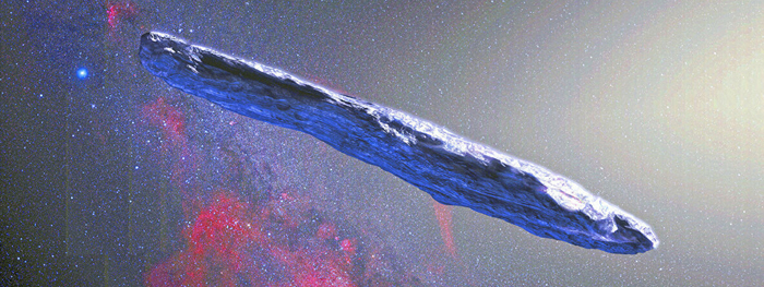 oumuamua pode ser iceberg interestelar