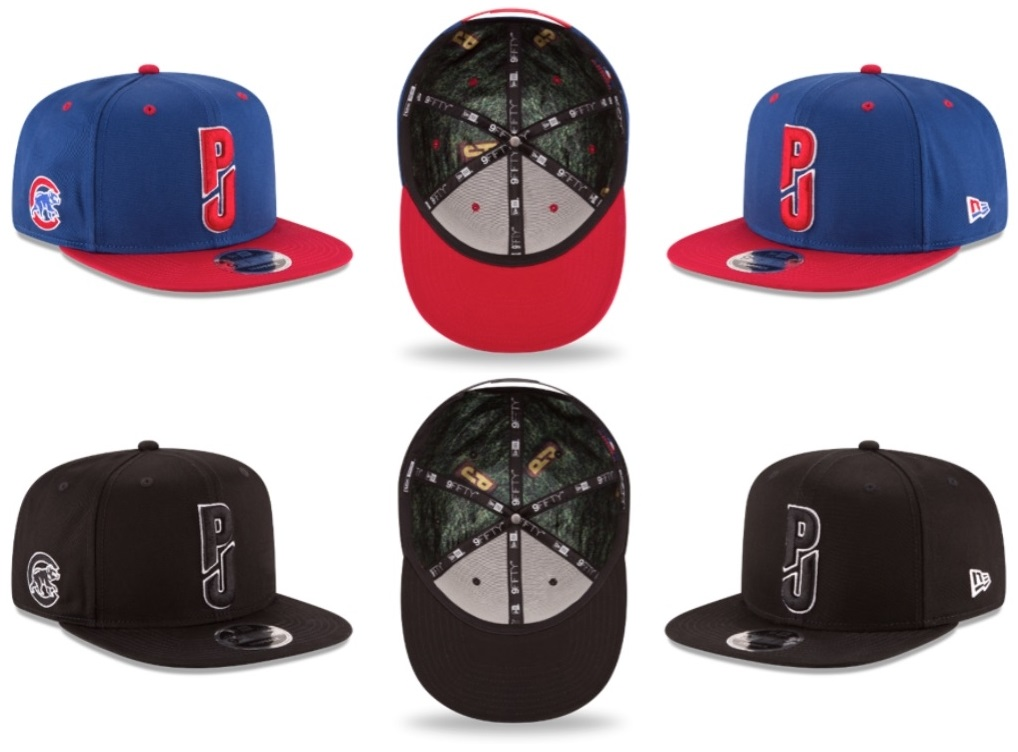 sports shoes f9fec 5456a Pearl Jam x New Era Chicago Cubs Wrigley Field 9FIFTY Snapback Hat