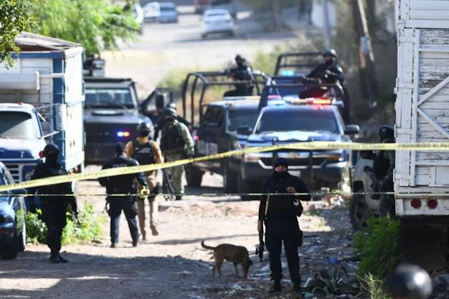 Otra vez que pasa en Sinaloa? Sicarios nuevamente salen a las calles de Culiacan en Convoys