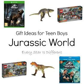 Jurassic World: Gift Ideas for Teen Boys