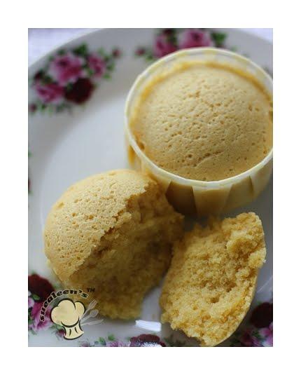 Suealeen's Kitchen: Kek Suji Berkeju