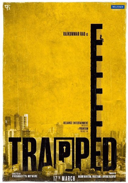 Trapped next upcoming movie first look, Poster of Rajkummar Rao, Geetanjali Thapa download first look Poster, release date