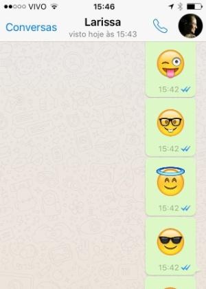 WhatsApp traz zoom para gravação de vídeo e emojis gigantes; veja novidades