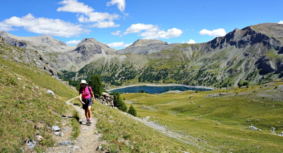 Trail to Col d'Encombrette