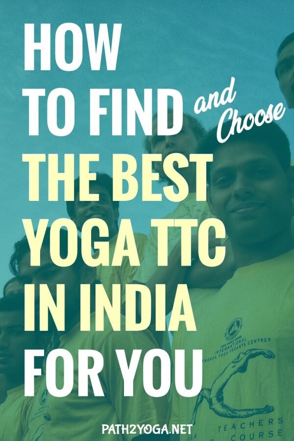 How to Find the BEST Yoga Teacher Training in India