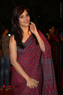 Telugu Television Anchor Anasuya Stills in Saree at Gemini TV Puraskaralu 2016 Event  0013.JPG