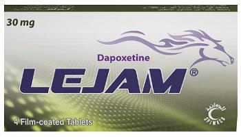 دواء لجام Lejam مضاد الاكتئاب, لـ علاج, سرعة القذف المرتبط باضطرابات القلق والتوتر والاكتئاب, القذف المبكر, السيطرة على القذف, ضعف الانتصاب, القلق والتوتر الجنسي.