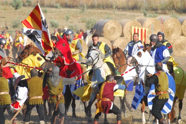 Cavalleria recreació batalla de Sanluri