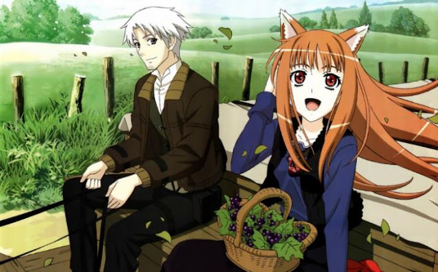 Ookami to Koushinryou (Spice and Wolf) - Best Fantasy Romance Anime list