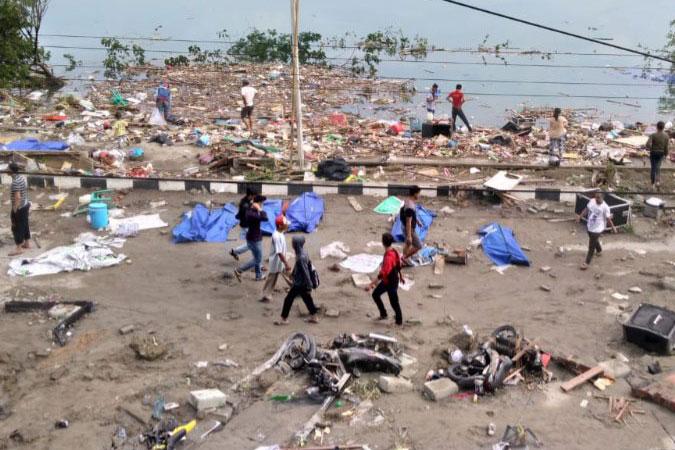 Penelitian At least 30 killed in Central Sulawesi earthquake