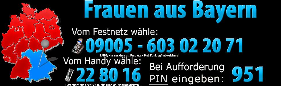 Telefonsex Bayern