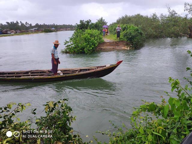 ထက္ေခါင္လင္း (Myanmar Now) ● ေက်ာက္ျဖဴၿမိဳ႕ ငလေပြ႕ရြာအနီး တာက်ိဳးေပါက္