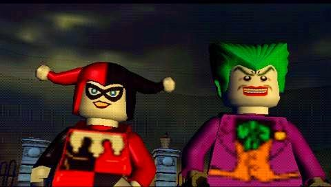 psp lego batman  free