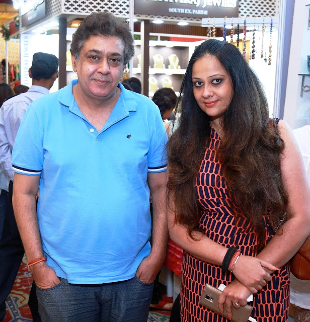 Entrepreneur Tarun Sarda and Ratika Seth at Martini Queens, Delhi