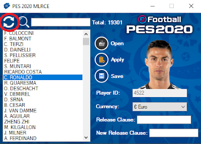 PES 2020 MLRCE (ML Release Clause Editor) by Extream87