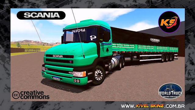 SCANIA T124 - GREEN TOP
