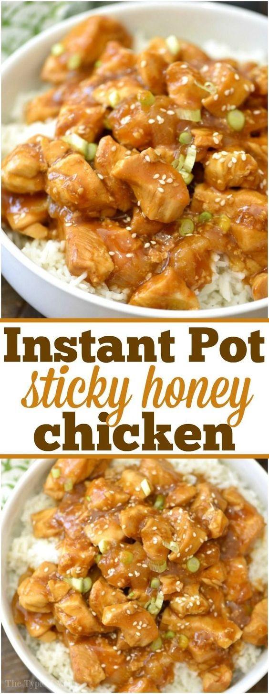 Spicy Honey Instant Pot Chicken