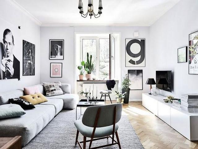 Desain Interior Ruang Tamu Minimalis Penataan Aksesoris Ruangan