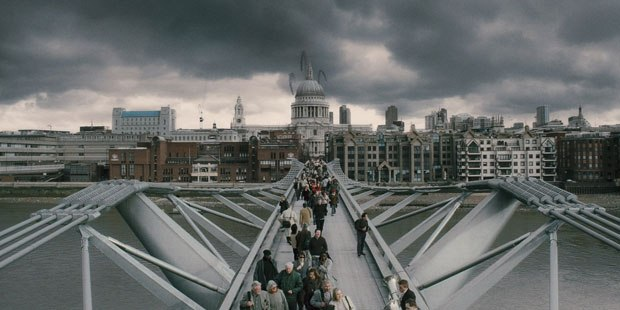 Millenium Bridge Harry Potter Places to visit