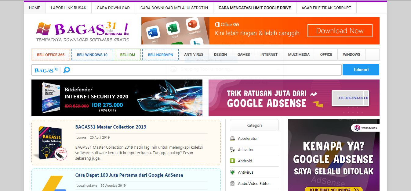 bagas31, download software gratis