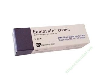 Kem bôi Eumovate cream điều trị viêm ngứa ngoài da hiệu quả