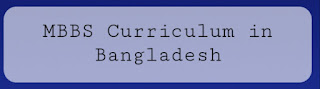 MBBS curriculum in Bangladesh update