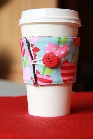 Double Sided Coffee Mug Sleeve from Crafty Staci