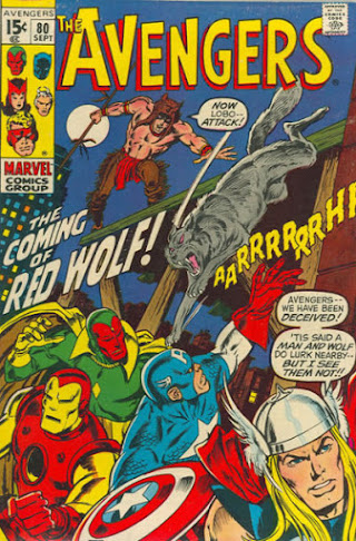 Avengers #80, Red Wolf