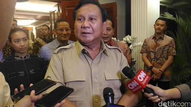 Kader Gerindra-PAN Tahu Sosok yang Mau Rusak Hubungan Prabowo-Amien
