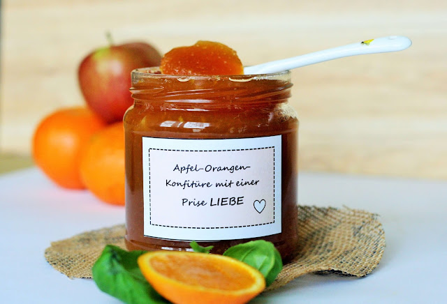 Apfel-Orangen-Marmelade