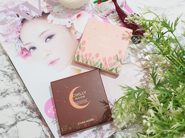 Review Etude Play Color Eyes Chilly Moon dan Tulip Day
