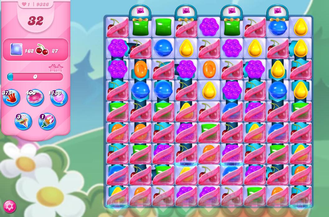 Candy Crush Saga level 9326