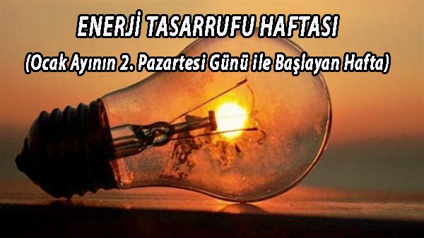 ENERJİ TASARRUFU HAFTASI ile ilgili yazı ve şiir