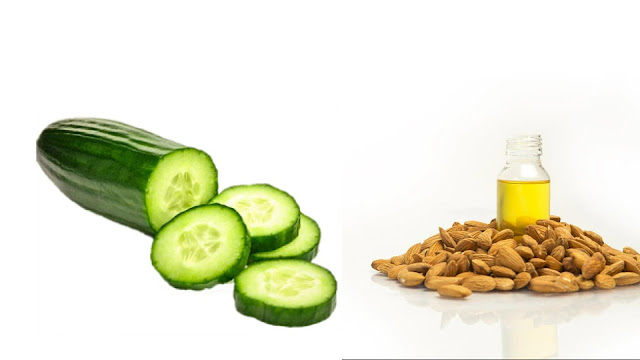 cucumber and Almond oil