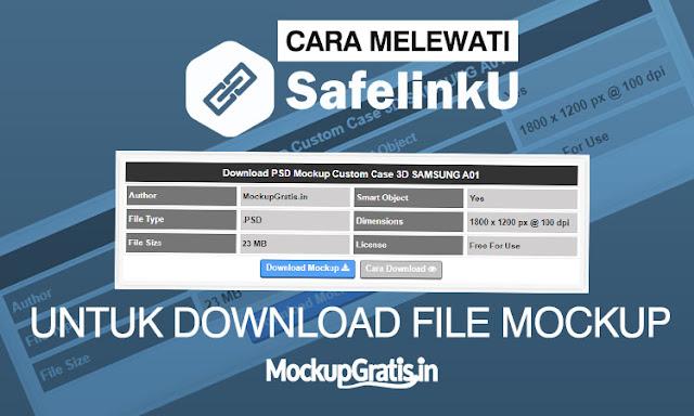 Cara download file mockup melewati savelinku