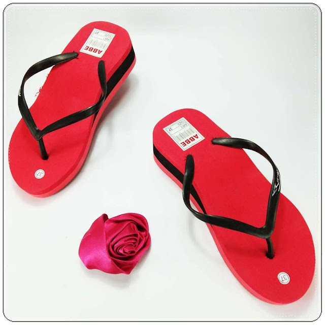 Sandal Cewe Tebal - Sandal Terlaris dan Termurah
