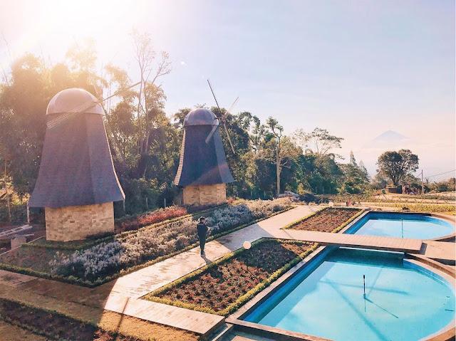 Tiket Masuk The Blooms Garden Bedugul Bali