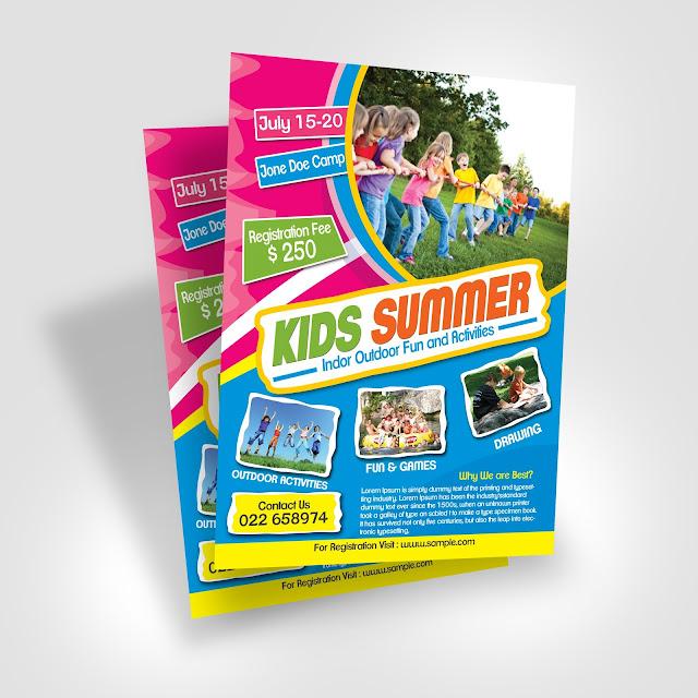 summer, camp, fest, clean, free, template, print, web, advert, minimal, minimalist,