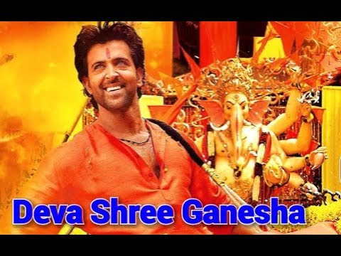 DEVA SHREE GANESHA LYRICS IN HINDI AND ENGLISH