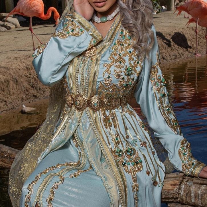 caftan mariée marocaine 2021 paris