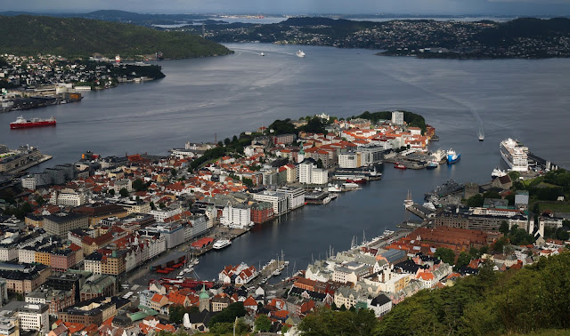 Bergen, Norway Harbor