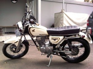 fhoto Modifikasi Honda CB terbaru
